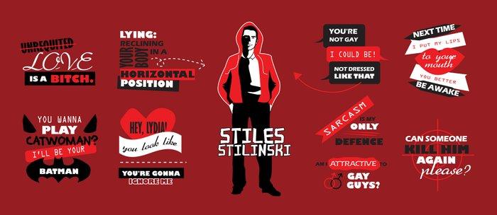 Stiles Stilinski Quotes Teen Wolf Coffee Mug