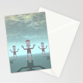 Characters Made of Stone Stationery Cards