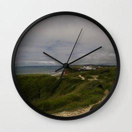 Cliffside Manor Wall Clock