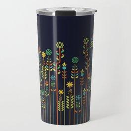 Overgrown flowers Travel Mug