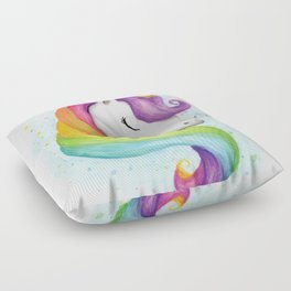 Rainbow Unicorn Floor Pillow
