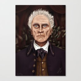 Ramsley the Buttler from Haunted Mansion Canvas Print