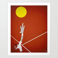 tennis Art Prints featuring Tennis by Osvaldo Casanova