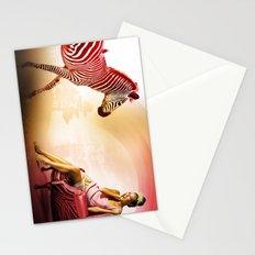 Red Zebra Stationery Cards