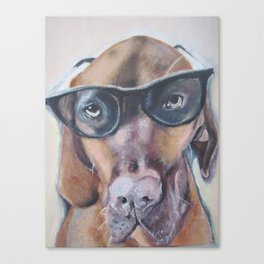 Woody The Viszla Canvas Print