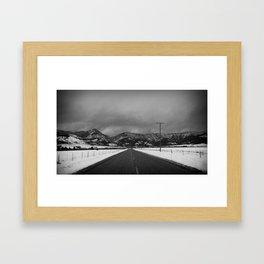 Depart Framed Art Print