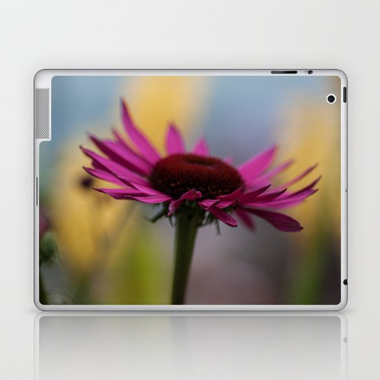 Deep Pink Daisy Laptop & iPad Skin