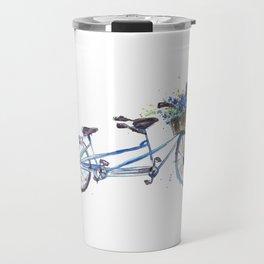 Tandem bicycle Travel Mug