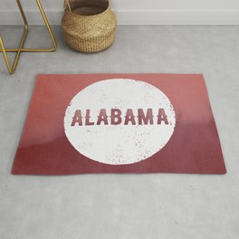 Alabama Roll Tide Rug