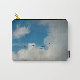 Flying Into The Storm Carry-All Pouch