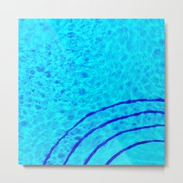 428 - Abstract water design Metal Print