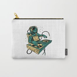 ASTRONAUT DJING SPACE Carry-All Pouch