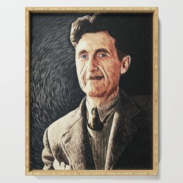 George Orwell Serving Tray