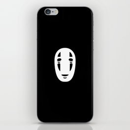 Minimal Cinema - Kaonashi/Spirited Away iPhone Skin