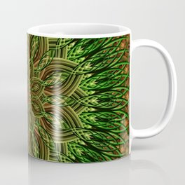 Earth Flower Mandala Coffee Mug