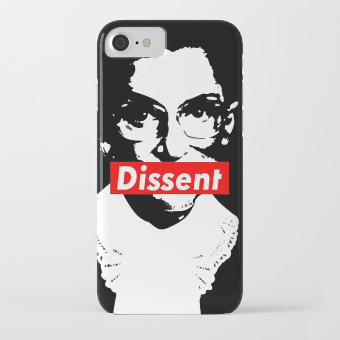 ruth bader ginsburg dissent feminist political rbg iphone case