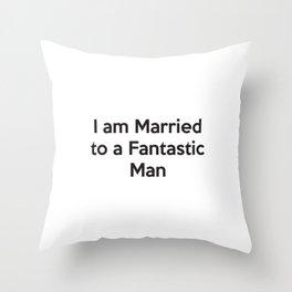Perfect Husband Throw Pillow