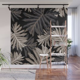 Philo Hope - Tropical Jungle Leaves Pattern #4 #tropical #decor #art #society6 Wall Mural
