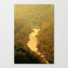Peaceful River View Canvas Print