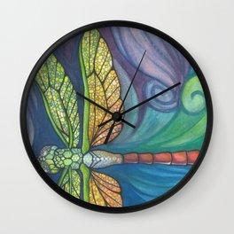 Groovy Dragonfly Spirit Wall Clock