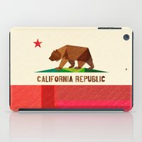 california iPad Cases featuring California by Fimbis