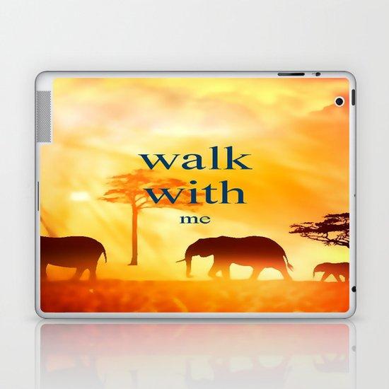 Walk with me Laptop & iPad Skin