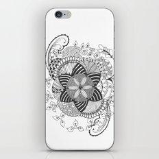 Turn black and white iPhone & iPod Skin