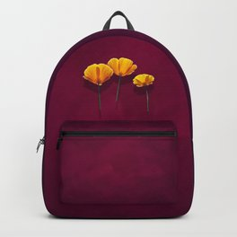 Three Poppies Backpack