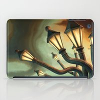 drunk iPad Cases featuring Drunk Streetlamps by Remus Brailoiu