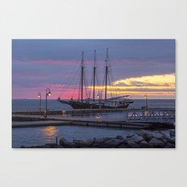 The Alliance at Sunrise Canvas Print