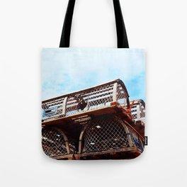 Lobster Trap Stack Tote Bag