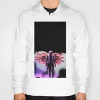 artrave Hoodies featuring LG - artRAVE by Illuminany