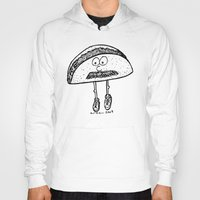 taco Hoodies featuring Taco by Addison Karl