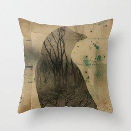 Nature Made Throw Pillow