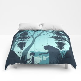 Lonely Spirit Spirited Away Comforters