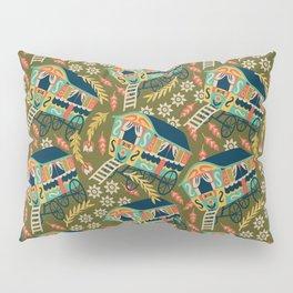 Gypsy Wagon Pattern Pillow Sham