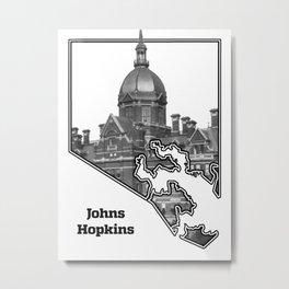 Hopkins White Metal Print