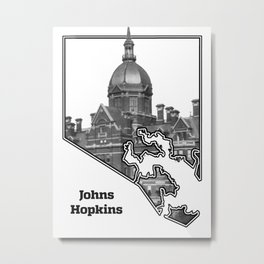 Hopkins White Metal Print