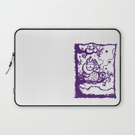 Coffee owl Laptop Sleeve