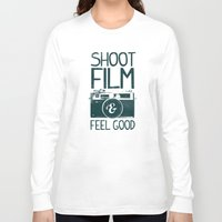film Long Sleeve T-shirts featuring Shoot Film by Victor Vercesi