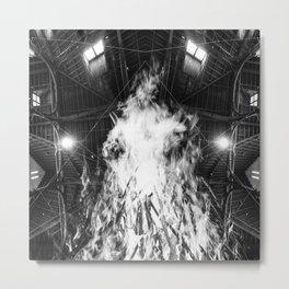Atreyu Long Live Brandon Saller Art piece Metal Print