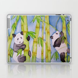 Playful Pandas by Moonlight Laptop & iPad Skin
