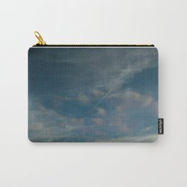 Cloudy Contrail Carry-All Pouch