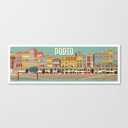 Porto - panoramic Canvas Print