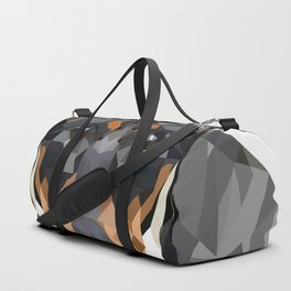 Dachshund | Low-poly Art Duffle Bag