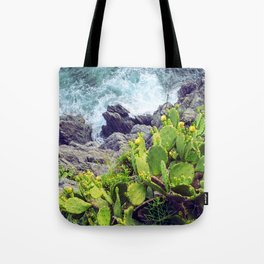 Don't cry it's just the sea Tote Bag