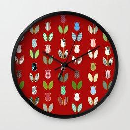 Tulips / 04 Wall Clock