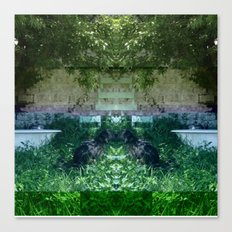 13-05-15 (NOLA Yard Glitch) Canvas Print