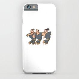 Rugby Haka team iPhone Case