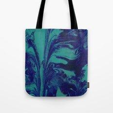 Blue Marble Tote Bag